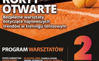 """""""KORTY OTWARTE PZT/ATT"""" – bezpłatne warsztaty metodyczne dotyczące najnowszych trendów w treningu tenisowym"""